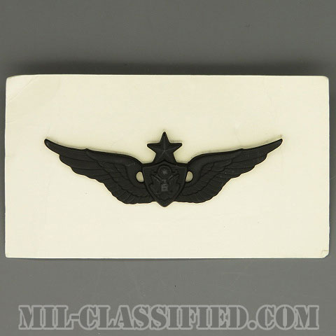 航空機搭乗員章 (シニア・エアクルー)(Army Aviation Badge (Aircrew), Senior)[サブデュード/1969年ロット/バッジ]の画像