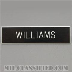WILLIAMS [アメリカ海軍用ネームプレート(名札)]の画像