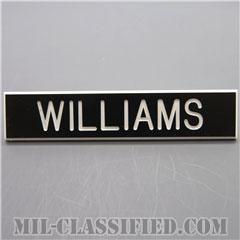 WILLIAMS [アメリカ海兵隊用ネームプレート(名札)]の画像
