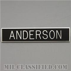 ANDERSON [アメリカ海兵隊用ネームプレート(名札)]の画像