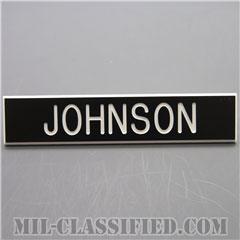 JOHNSON [アメリカ海兵隊用ネームプレート(名札)]の画像