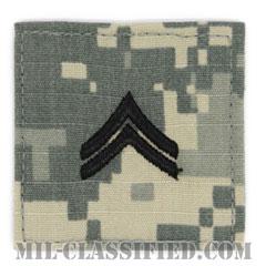 伍長(Corporal (CPL))[UCP(ACU)/階級章/ベルクロ付パッチ]の画像