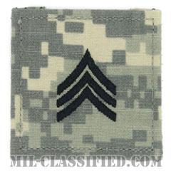 軍曹(Sergeant (SGT))[UCP(ACU)/階級章/ベルクロ付パッチ]の画像