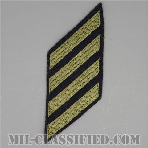 年功章 4連(勤続12年)(Service Stripe)[ウール・フェルト生地/パッチ/中古1点物]の画像
