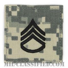 二等軍曹(Staff Sergeant (SSG))[UCP(ACU)/階級章/ベルクロ付パッチ]の画像