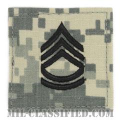 一等軍曹(Sergeant First Class (SFC))[UCP(ACU)/階級章/ベルクロ付パッチ]の画像
