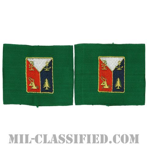 第43歩兵師団リーダー識別章(43rd Infantry Division, Leadership Tabs)[ペア(2枚1組)/1点物]の画像