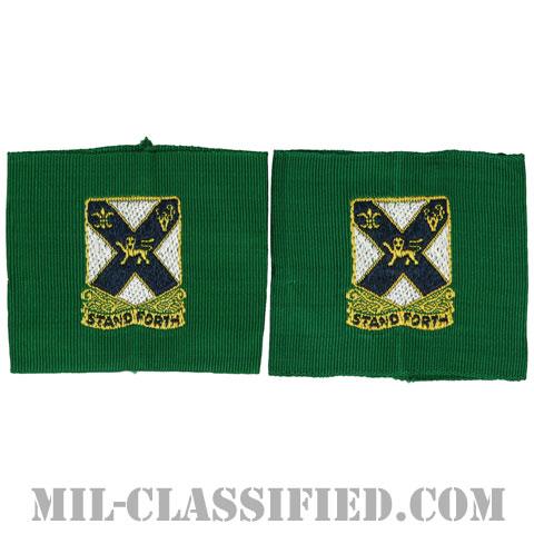 第102歩兵連隊リーダー識別章(102nd Infantry Regiment, Leadership Tabs)[ペア(2枚1組)/1点物]の画像