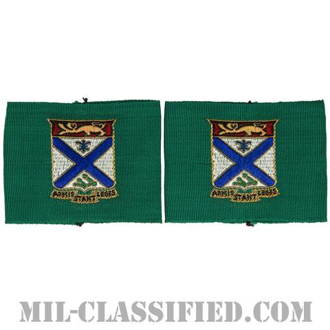 第169歩兵連隊リーダー識別章(169th Infantry Regiment, Leadership Tabs)[ペア(2枚1組)/1点物]の画像
