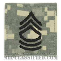 曹長(Master Sergeant (MSG))[UCP(ACU)/階級章/ベルクロ付パッチ]の画像