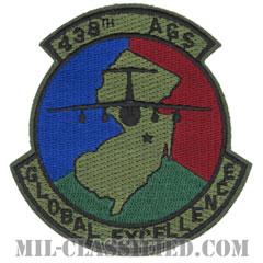 第438航空機ジェネレーション隊(438th Aircraft Generation Squadron)[サブデュード/カットエッジ/パッチ]の画像
