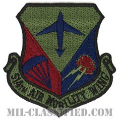 第514航空機動航空団(514th Air Mobility Wing)[サブデュード/カットエッジ/パッチ]の画像