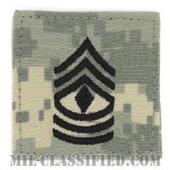 先任曹長(First Sergeant (1SG))[UCP(ACU)/階級章/ベルクロ付パッチ]の画像