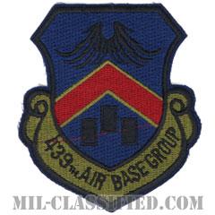 第439飛行場群(439th Air Base Group)[サブデュード/カットエッジ/パッチ]の画像