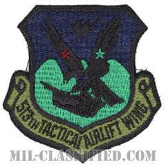 第513戦術空輸航空団(513th Tactical Airlift Wing)[サブデュード/カットエッジ/パッチ]の画像