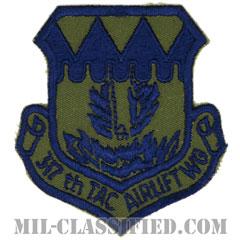 第317戦術空輸航空団(317th Tactical Airlift Wing)[サブデュード/カットエッジ/パッチ]の画像