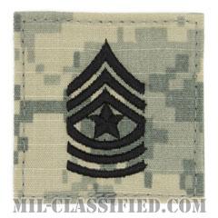 上級曹長(Sergeant Major (SGM))[UCP(ACU)/階級章/ベルクロ付パッチ]の画像