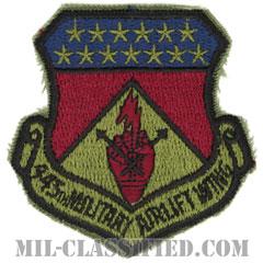 第445兵員空輸航空団(445th Military Airlift Wing)[サブデュード/カットエッジ/パッチ]の画像