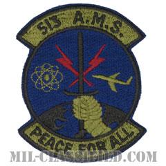 第513アビオニクス整備隊(513th Avionics Maintenance Squadron)[サブデュード/カットエッジ/パッチ]の画像
