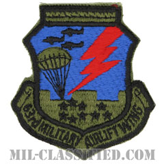 第63兵員空輸航空団(63rd Military Airlift Wing)[サブデュード/カットエッジ/パッチ]の画像