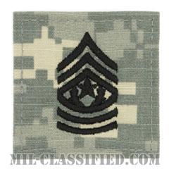 最先任上級曹長(Command Sergeant Major (CSM))[UCP(ACU)/階級章/ベルクロ付パッチ]の画像