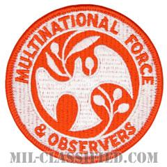多国籍軍監視団(Multinational Force and Observers / MFO)[カラー/メロウエッジ/ベルクロ付パッチ]の画像