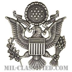 アメリカ空軍制帽用帽章 (将校用・男性用)(Air Force Service Cap Device, Officer, Male)[カラー/バッジ]の画像