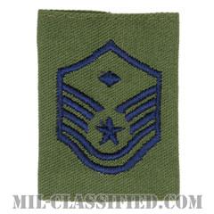 先任曹長(First Sergeant (E-7))[サブデュード(Subdued)/ゴアテックスパーカー用スライドオン空軍階級章]の画像