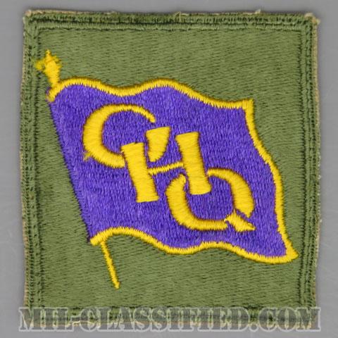 連合国軍最高司令官総司令部(General Headquarters (GHQ))[カラー/カットエッジ/パッチ/中古1点物]の画像