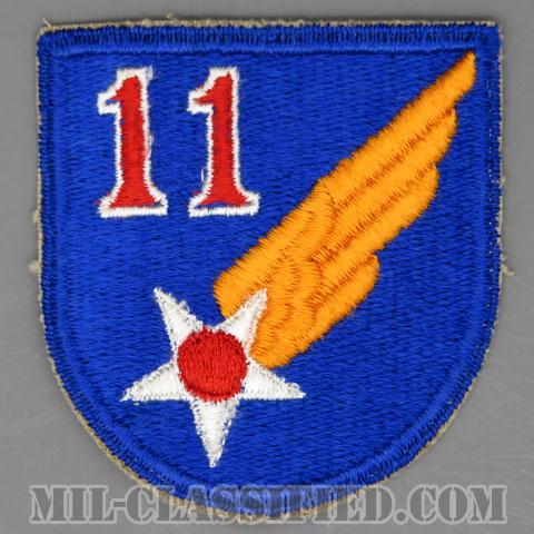 第11空軍(11th Air Force)[カラー/カットエッジ/パッチ/1点物]の画像