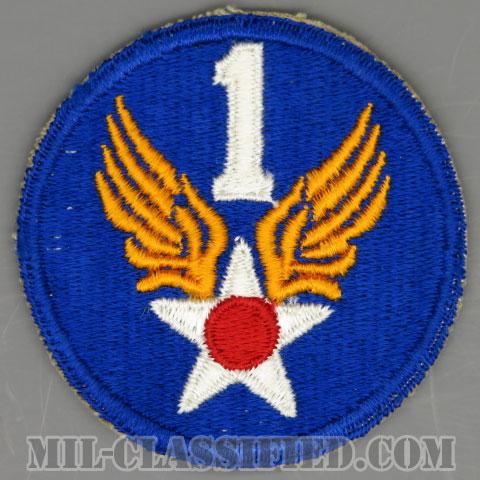 第1空軍(1st Air Force)[カラー/カットエッジ/パッチ/1点物]の画像