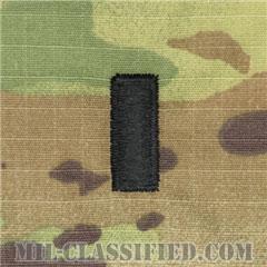 中尉(First Lieutenant (1LT))[OCP/空軍階級章/キャップ・チェスト用/縫い付けパッチ]の画像