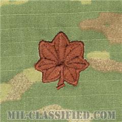 少佐(Major (MAJ))[OCP/空軍階級章/キャップ・チェスト用/縫い付けパッチ]の画像