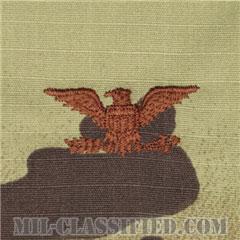 大佐(Colonel (COL))[OCP/空軍階級章/キャップ・チェスト用/縫い付けパッチ]の画像
