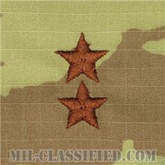 少将(Major General (MG))[OCP/空軍階級章/チェスト用/縫い付けパッチ]の画像