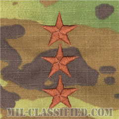中将(Lieutenant General (LTG))[OCP/空軍階級章/チェスト用/縫い付けパッチ]の画像