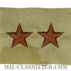 少将(Major General (MG))[OCP/空軍階級章/キャップ用/縫い付けパッチ]の画像