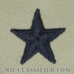 准将(Brigadier General (BG))[ABU/空軍階級章/パッチ/ペア(2枚1組)]の画像