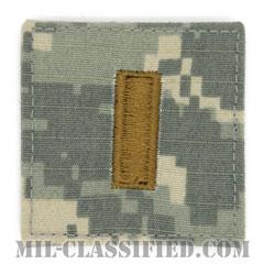 少尉(Second Lieutenant (2LT))[UCP(ACU)/階級章/ベルクロ付パッチ]の画像