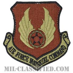 空軍資材コマンド(Air Force Materiel Command)[OCP/カットエッジ/ベルクロ付パッチ]の画像