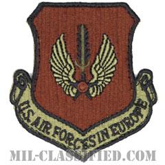 在欧アメリカ空軍(Air Forces In Europe Command)[OCP/カットエッジ/ベルクロ付パッチ]の画像