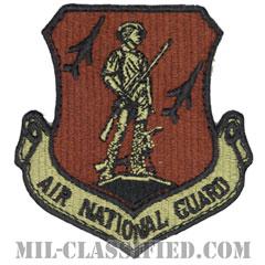 空軍州兵(Air National Guard Command)[OCP/カットエッジ/ベルクロ付パッチ]の画像