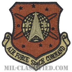 空軍宇宙軍団(Air Force Space Command)[OCP/カットエッジ/ベルクロ付パッチ]の画像
