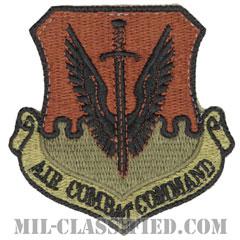 航空戦闘軍団(Air Combat Command)[OCP/カットエッジ/ベルクロ付パッチ]の画像