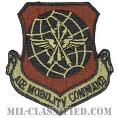 航空機動軍団(Air Mobility Command)[OCP/カットエッジ/ベルクロ付パッチ]の画像