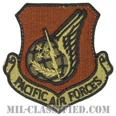 太平洋空軍(Pacific Air Forces)[OCP/カットエッジ/ベルクロ付パッチ]画像