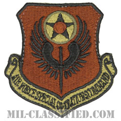 アメリカ空軍特殊作戦コマンド(Air Force Special Operations Command)[OCP/カットエッジ/ベルクロ付パッチ]の画像