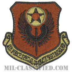 アメリカ空軍特殊作戦コマンド(Air Force Special Operations Command)[OCP/カットエッジ/ベルクロ付パッチ]画像