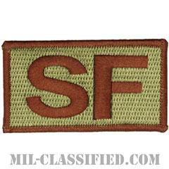 SF(空軍警備隊)(Security Forces)[OCP/メロウエッジ/ベルクロ付パッチ]の画像