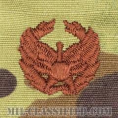 指揮官章(Commander's Badge)[OCP/ブラウン刺繍/パッチ]の画像